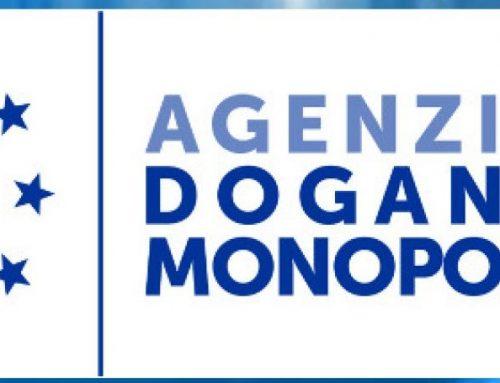 PROROGA Dichiarazioni annuali di consumo all'Agenzia Dogane 2021